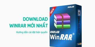 Download Winrar Mới Nhất Và Hướng Dẫn Cài đặt